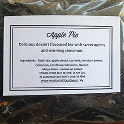 Apple Pie Black Tea FREE SHIPPING