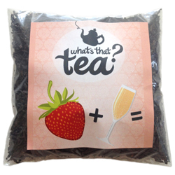 Strawberry and Champagne Black Tea SAMPLE 50g